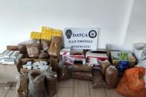Datça'da 210 Kilogram Kaçak Tütün Ele Geçirildi