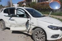 Datça'da Kamyonetle Otomobil Çarpıştı: 2 Yaralı