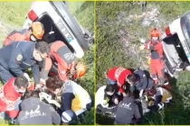 Fethiye'de Kontrolden Çıkan Araç DSİ Kanalına Yuvarlandı