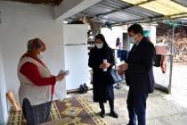 Muğla'da Sosyal Yardımdan Faydalanamadığı Tespit Edilen Ailelere Ziyaret