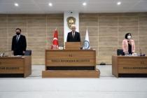 Büyükşehir Mart Ayı Meclisi İstiklal Marşı İle Açıldı