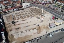 Fethiye'de GES Projeli Kapalı Pazar Yeri'nin Temel Atma Töreni Gerçekleştirildi