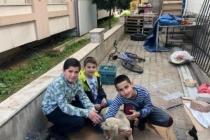Milas'ta Saldırıya Uğrayan Yavru Köpeği 6 Küçük Çocuk Sahiplendi