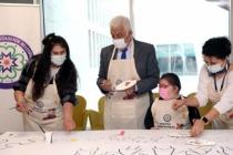 Başkan Gürün Otizmli Çocuklarla Buluştu