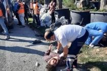 Bodrum'da Minibüs ile Motosiklet Çarpıştı: 2 Yaralı