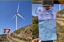 Bodrum'da Ruhsatsız Olduğu Gerekçesiyle 4 Rüzgar Türbini Mühürlendi