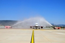 Bodrum Havalimanı'na Yılın İlk Turist Kafilesi Geldi