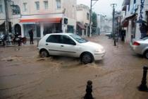 Bodrum'u Taşkınlardan Korumak İçin 25 Metrelik 'Sel Kapanı'