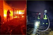 Dalaman'ın Gürköy Mahallesindeki Ahılda Çıkan Yangın Korkuttu