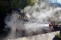 Seydikemer'de Alevlerin Arasında Kalan Vatandaşı İtfaiye Kurtardı