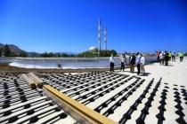 Başkan Gürün, Bodrum'da Devam Eden Yatırımları İnceledi