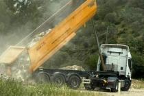 Bodrum'da Kaçak Moloz Döken Firma Yakalandı