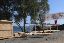 Fethiye'de Halk Plajına Yapılan Kafeterya ve Büfeye Tepki