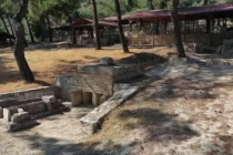 Milas'ta Maden Sahasından Çıkarılan Tarihi Eserler Arkeoloji Parkına Taşınıyor