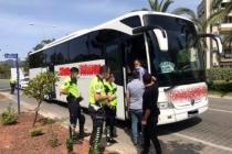 Seyahat İzin Belgesi Olmayan Yolcular Marmaris'teki Denetimlere Takıldı