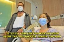 """""""Tatile Gidiyoruz"""" Dediği 23 Yıllık Eşini Hastaneye Götürerek Böbreğini Verdi"""