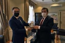 Ukrayna'nın Antalya Konsolosu Rustamov, Muğla Valisi Tavlı'yı Ziyaret Etti