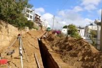 Bodrum'da Kanalizasyon Hattının 72 Kilometresi Tamamlandı