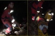 Marmaris'te Uçuruma Düşen Kişi İtfaiye ve AKUT Ekiplerince Kurtarıldı