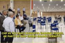 Muğla Büyükşehir Belediyesi Meclis Toplantısında, AK Parti ve MHP Grubu Salonu Terk Etti!