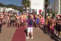 TYF Açık Su Milli Takım Seçmesi ve Türkiye Şampiyonası Marmaris'te Başladı