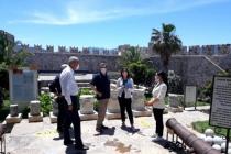 Vali Orhan Tavlı, Marmaris'in Tarihi ve Kültürel Mekânlarında İncelemelerde Bulundu