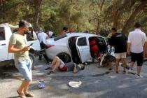 Fethiye'de Otomobil İle Cip Çarpıştı, 4'ü Yabancı 8 Kişi Yaralandı