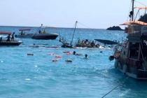 Ölüdeniz Açıklarında Batan Teknedeki Tüm Yolcular Kurtarıldı: 3 Yaralı!