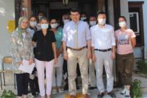 Vali Orhan Tavlı'dan Aile ve Sosyal Hizmetler Personellerini Başarı Belgesi
