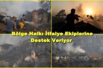 Marmaris'teki Orman Yangını Evlere Sıçradı!