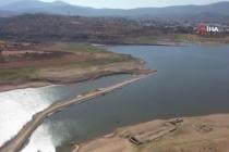 Bodrum'da Baraj Kurudu 66 Yıllık Kiremit Fabrikası, 40 Yıl Önce Sular Altında Kalan Yol Ortaya Çıktı