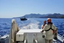 Göcek Açıklarında Yangın Çıkan Teknedeki 4 Kişi Kurtarıldı