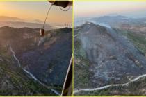Bodrum'da Çıkan Yangında 5 Hektar Makilik Alan Zarar Gördü