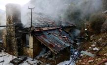 Dalaman'da 90 Yaşındaki Kadının Evi Küle Döndü!
