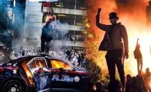 Siyahilerin İsyanı Büyüyor! ABD'de 25 Kentte Sokağa Çıkma Yasağı İlan Edildi!