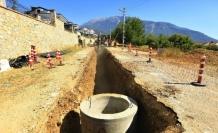 Ölüdeniz Mahallesi'nde 1520 Metre Kanalizasyon Hattı Tamamlandı