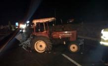 Yatağan'da, Hafif Ticari Araç Traktörle Çarpıştı: 2 Ağır Yaralı!