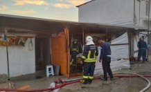 Dalaman'da İşçilerin Konakladığı Binada Yangın Çıktı !