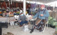 Muğla'da Soğuk Hava Pazar Esnafını da Vurdu