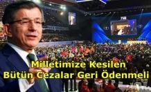 Ahmet Davutoğlu'ndan AK Parti Kongresindeki Kalabalığa Tepki!