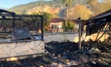 Dalyan'daki Bir Pansiyonda Çıkan Yangın Maddi Zarara Neden Oldu