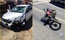 Seydikemer'de Otomobille Çarpışan Motosiklet Sürücüsü Öldü