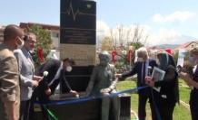 """Fethiye'de Sağlık Çalışanları İçin Yapılan """"Saygı Anıtı"""" Açıldı"""