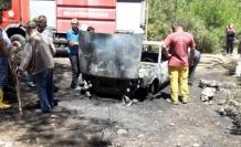 Milas'ta, Park Halindeki Araçta Başlayan Yangın Ormana Sıçradı