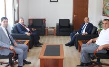 Fethiye Başsavcısı Bingül'den Ortaca Kaymakamı Erdoğan'a Ziyaret
