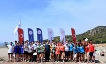 Plaj Korfbol Turnuvası Sarıgerme'de Yapıldı