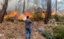 Seydikemer Yangını Kontrol Altına Alındı