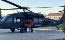 Fethiye'deki Yamaç Paraşütçüsü Helikopterle Kurtarıldı