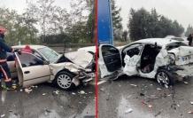Korkunç Kaza: TEM'de 15'ten Fazla Araç Birbirine Girdi!