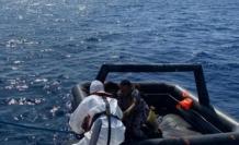 Marmaris'te Düzensiz  Göçmenler Kurtarıldı